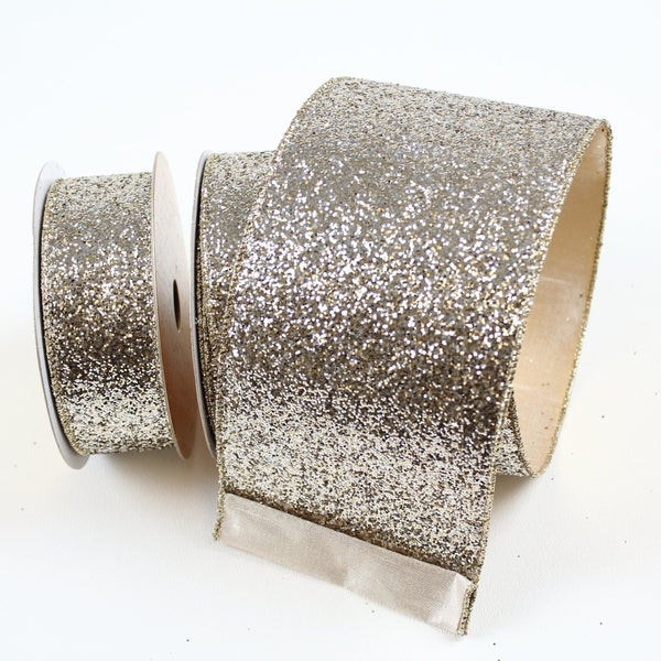 "GLITTER MAGIC - 1.5"" X 10YD / PLATINUM"