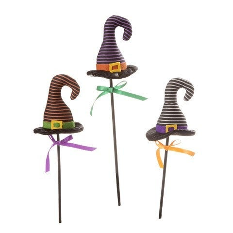 Striped Witch Hat Pick: 4 X 16 Inches