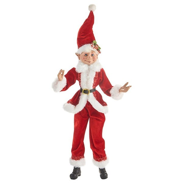 "16""  Santa Posable Elf"
