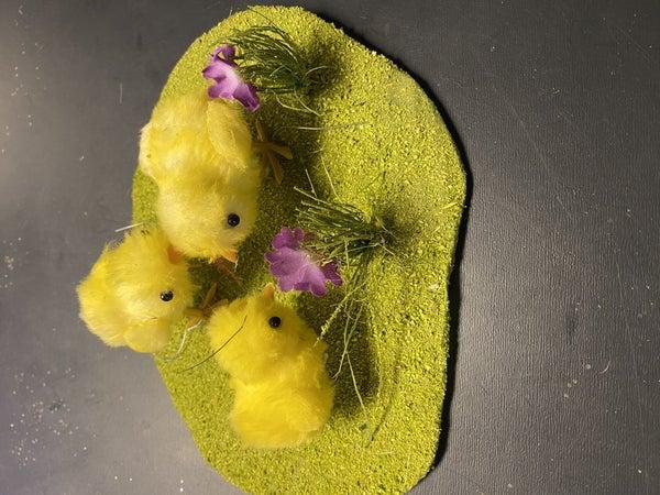 3 chicks pad