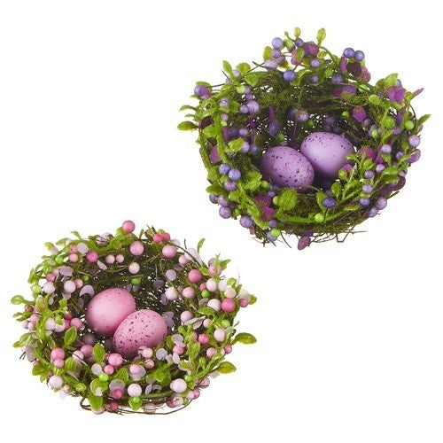 """5"""" Berry Nest with Eggs"""