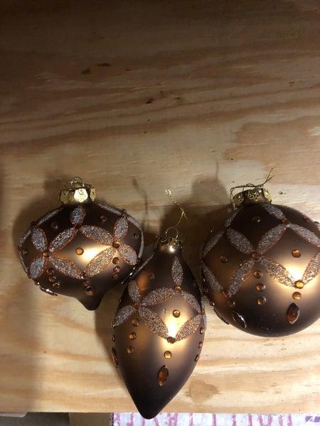 Matte Copper Ornament