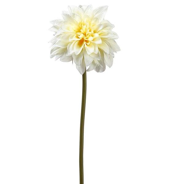 "19"" Dahlia Spray  Soft Yellow"