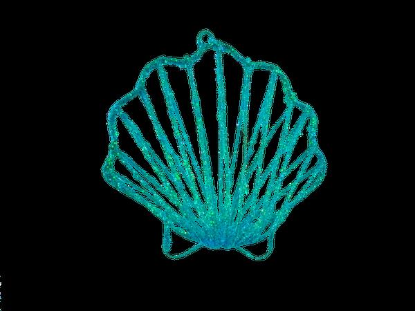 ORN Shell L6.5xW6.5xH2 Blue