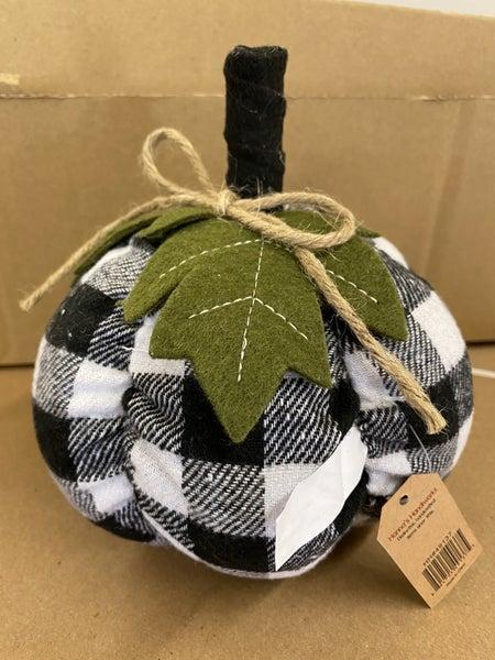 Checkered Pumpkin Small
