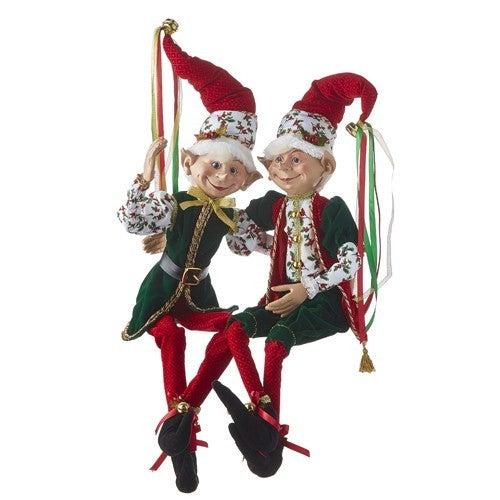"Christmas Eve 30"" POSABLE ELF"