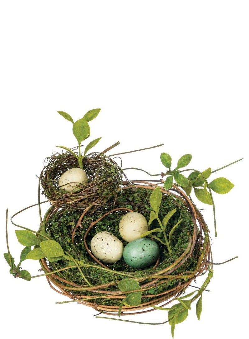 DOUBLE NEST W EGGS