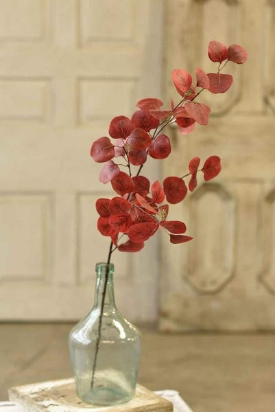 "Sprightly Leaves Stem | 36"" | Red"