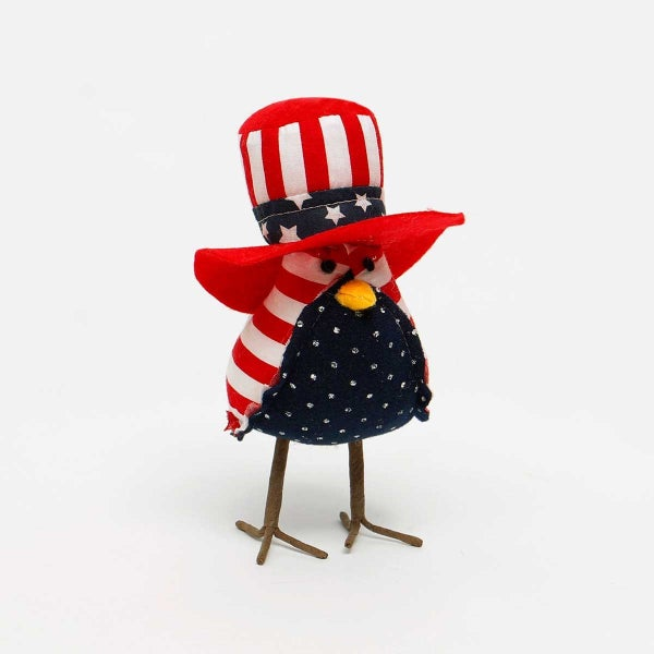 "UNCLE SAM EAGLE with AMERICANO HAT 3""X5""X6.5"""