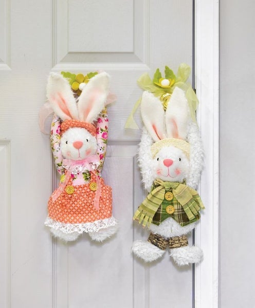 Spring Floral Bunny Hanger