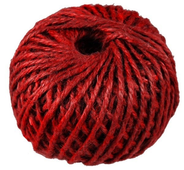 3Mm Jute Red