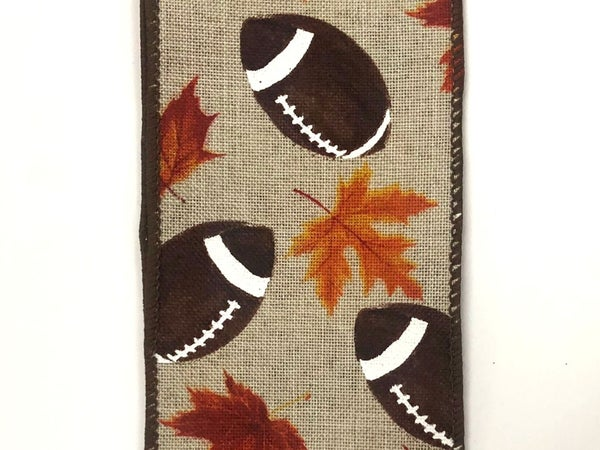 "Lt Natural Linen Football Fall 2.5""x10yd"