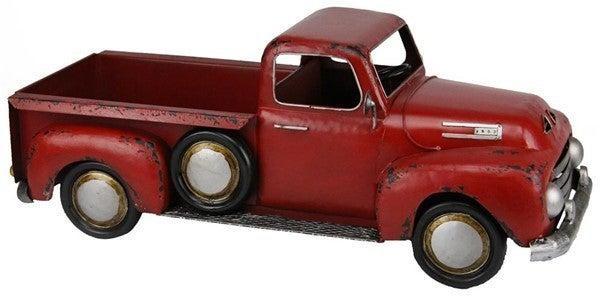"25.5""L X 9.75""H Metal Truck Planter"