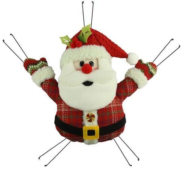 """12""""L X 10""""H Mini Santa"""