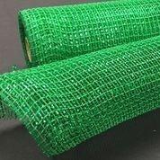 """Emerald Metallic Fabric Mesh 10""""x10yd"""