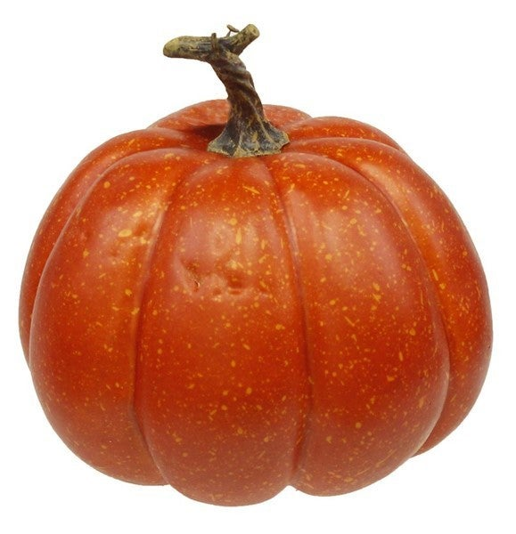 "6.5""Dia Large Pumpkin W/Stem"