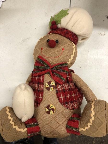 Sitting Gingerbread Flour 14x10.5x8