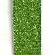 "Lime All Flat Glitter 1.5""x10yd"