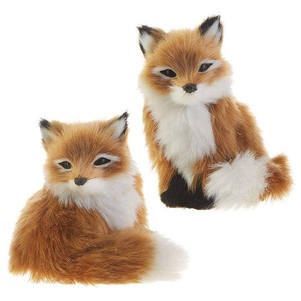 "4.25\"" FOX ORNAMENT"