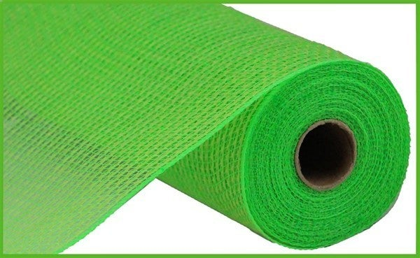 "21""X10yd Faux Jute/Pp Stripe Fresh Green"