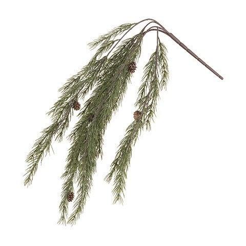 Hanging Pine Bush: 33 Inches