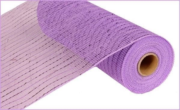 "10""X10yd Purple Metallic Mesh"
