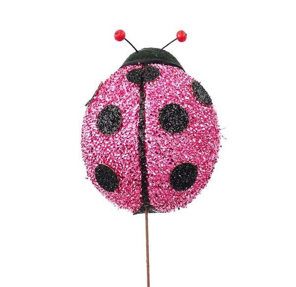 Ladybug Pick D2xW4xH16 Pink