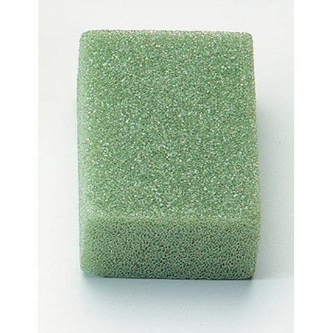 STYROFOAM® Block - Green - Shrink Wrapped - 4 X 3 X 2 Inches