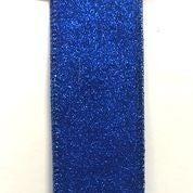 "Royal Blue All Flat Glitter 1.5""x10yd"