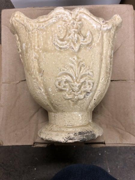 "Parisian Garden Urn 6.5""x6.75"""