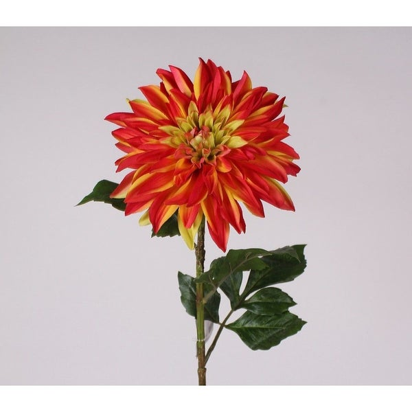 "28"" DAHLIA SPRAY  orange"