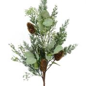Seeded Eucalyptus Mix Pine Spray H28