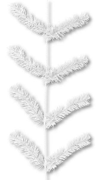"""12"""" X 9' Work Garland X22 Ties White"""