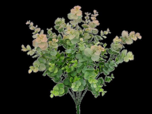 Plastic Eucalyptus Bush X 7 H18
