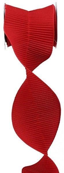 "5""X5yd Woven Metallic Red"