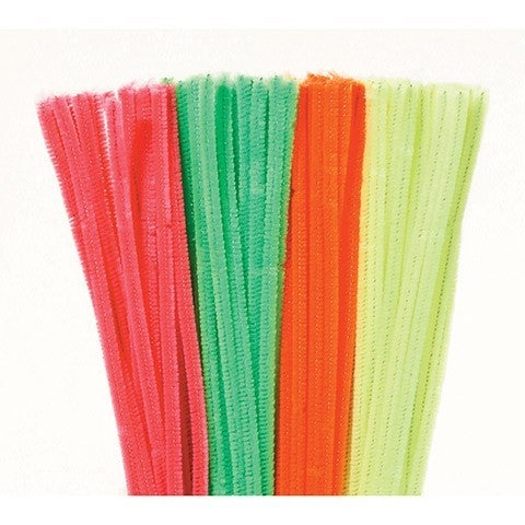 Next Chenille Stems - 6mm - Neon - 100 piecesAlternate product shot 1194-70Alternate product shot 1194-70Alternate product shot 1194-70Alternate product shot 1194-70 Chenille Stems - 6mm - Neon - 100 Pieces