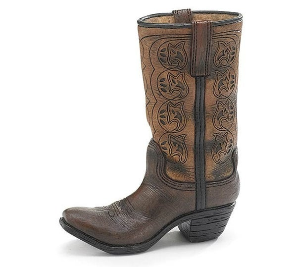 VASE WESTERN SWING BOOT SHAPE