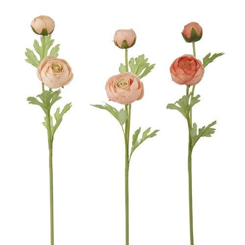"""22"""" REAL TOUCH RANUNCULUS SPRAY"""
