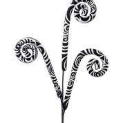 Zebra Spiral Curly Spray