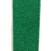 """Emerald All Flat Glitter 1.5""""x10yd"""