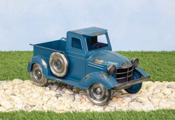 PEACOCK BLUE CLASSIC TRUCK