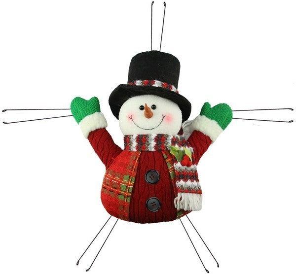 """20""""L X 18.5""""H Snowman"""