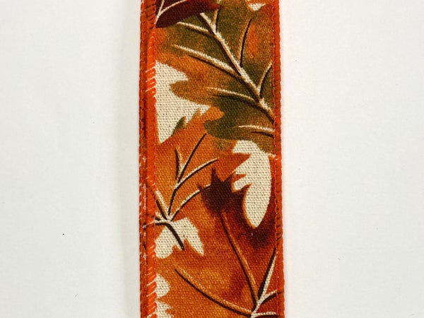 """Ivory/Canvas Leaves 1.5""""x50yd"""