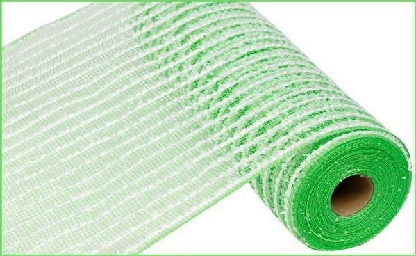 Green snowdrift mesh Green
