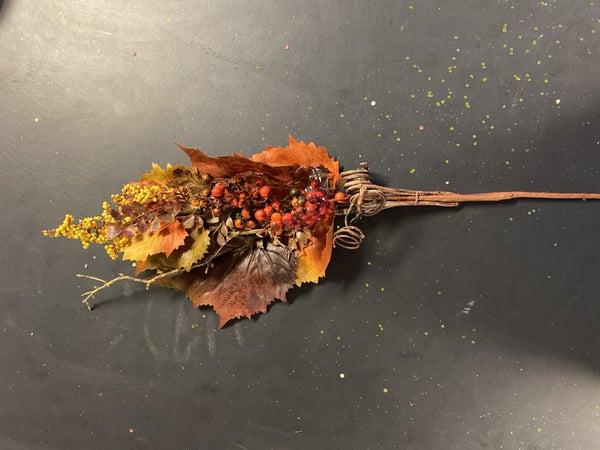 Large Fall Maple Leaf Spray