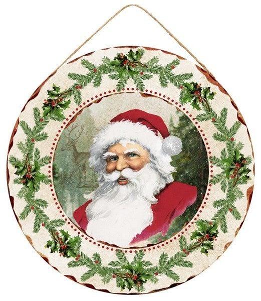 """15.75""""Dia Vintage Santa"""
