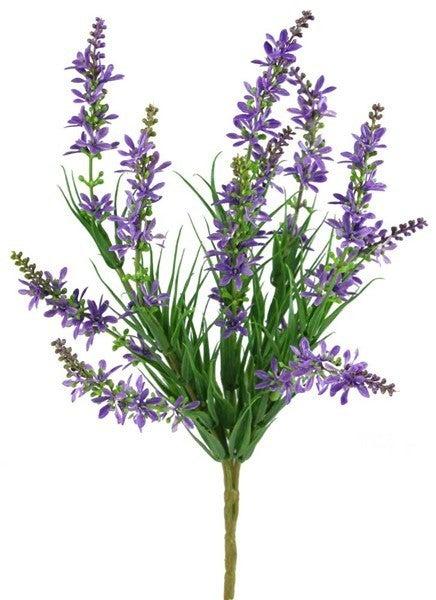 "13""L Lavender Bush"