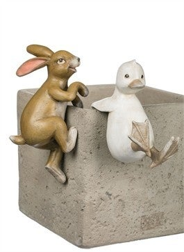 DUCK RABBIT VASE HANGERS