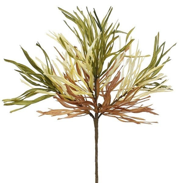 "21""L Wild Paper Grass Bush BEIGE/GREEN/BROWN"