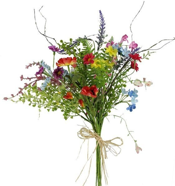 "20""L Flower/Mini Bead Spike Bouquet"
